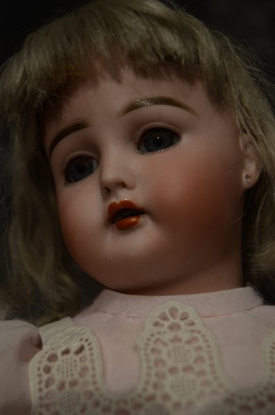 ANTIQUE GERMAN BISQUE HEAD DOLL ~ 191 ~ - 2