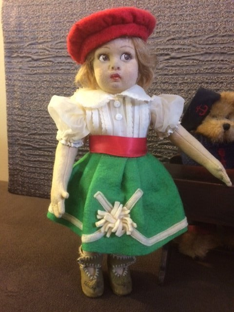 "13"" ALL ORIGINAL LENCI DOLL"