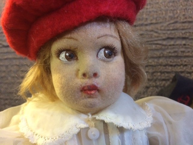"13"" ALL ORIGINAL LENCI DOLL - 2"