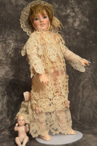 ANTIQUE FRENCH BISQUE DOLL ~ LORRAINE ~ JE MASSON