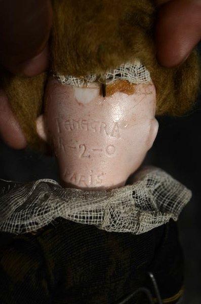 1890'S ANTIQUE BISQUE HEAD DOLL ~ TAMAGRO ~ - 3