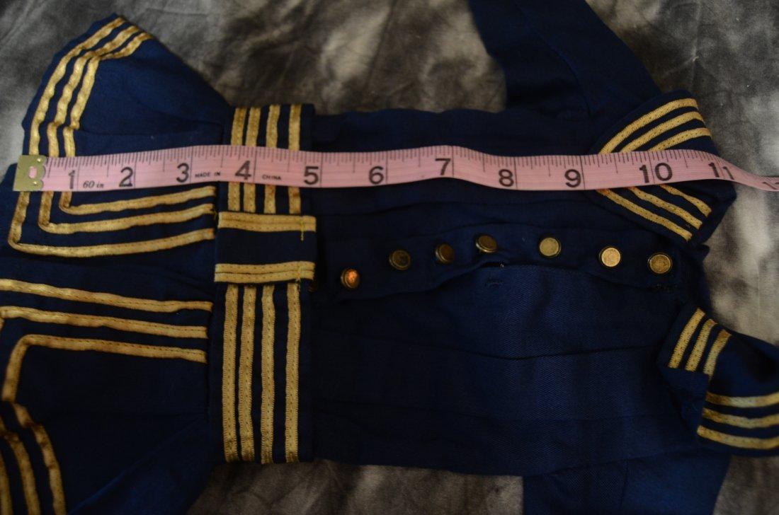 """EXQUISITE VINTAGE SAILOR DRESS ...~FITS A 16-18"""" DOLL~ - 4"""