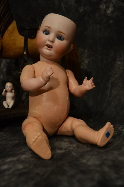 "15"" ANTIQUE CHARACTER BABY ~ 169 ~"