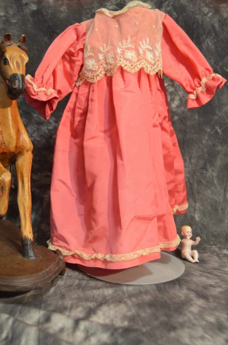 STUNNING ANTIQUE/VINTAGE SILK DRESS