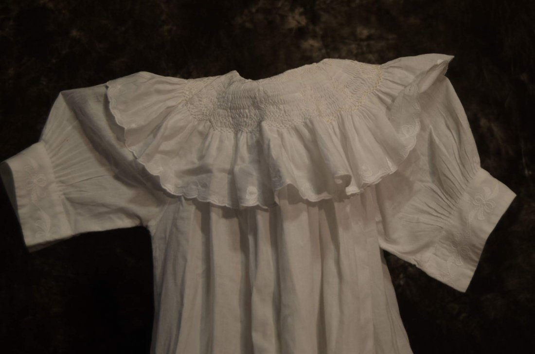 LOVELY ANTIQUE COTTON DRESS