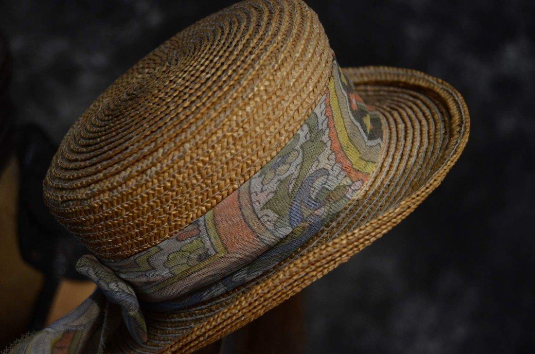 IRRESISTABLE ANTIQUE DOLL HAT FOR ANTIQUE BISQUE