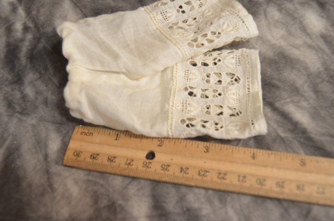 ANTIQUE PANTALOONS FOR SMALL BISQUE DOLL - 2