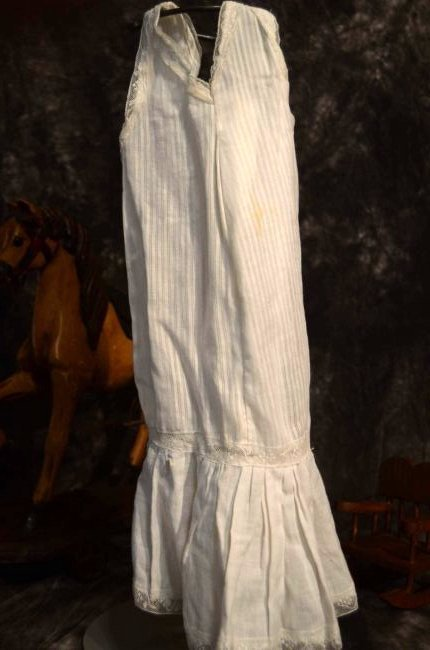 ANTIQUE DOLL SLIP FOR LARGE ANTIQUE BISQUE DOLLS - 3