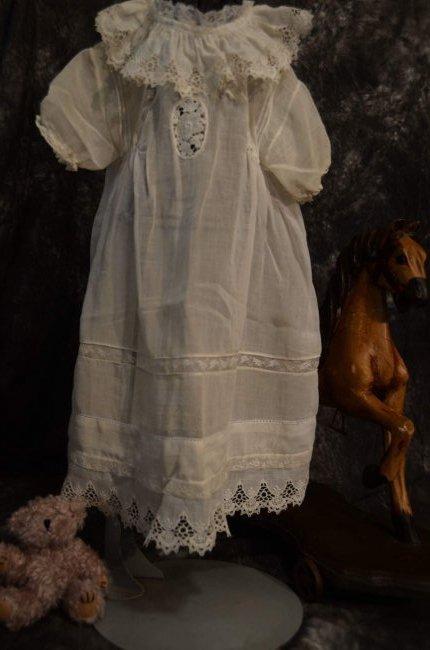 PRECIOUS ANTIQUE DOLL DRESS