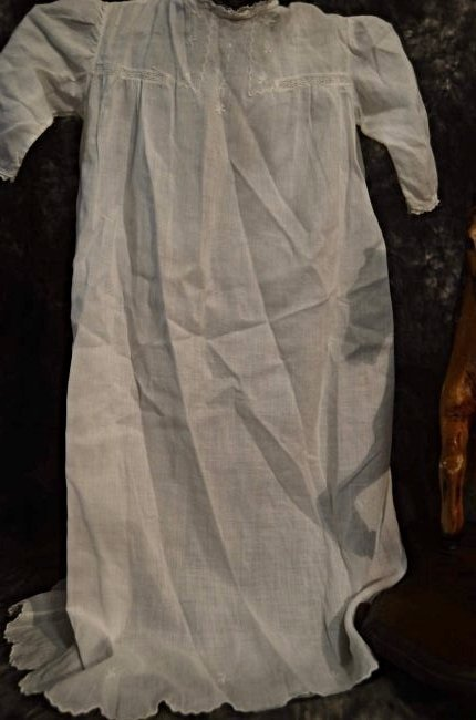 ANTIQUE DOLL GOWN