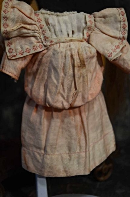 ANTIQUE DOLL DRESS ~ ORIGINAL~