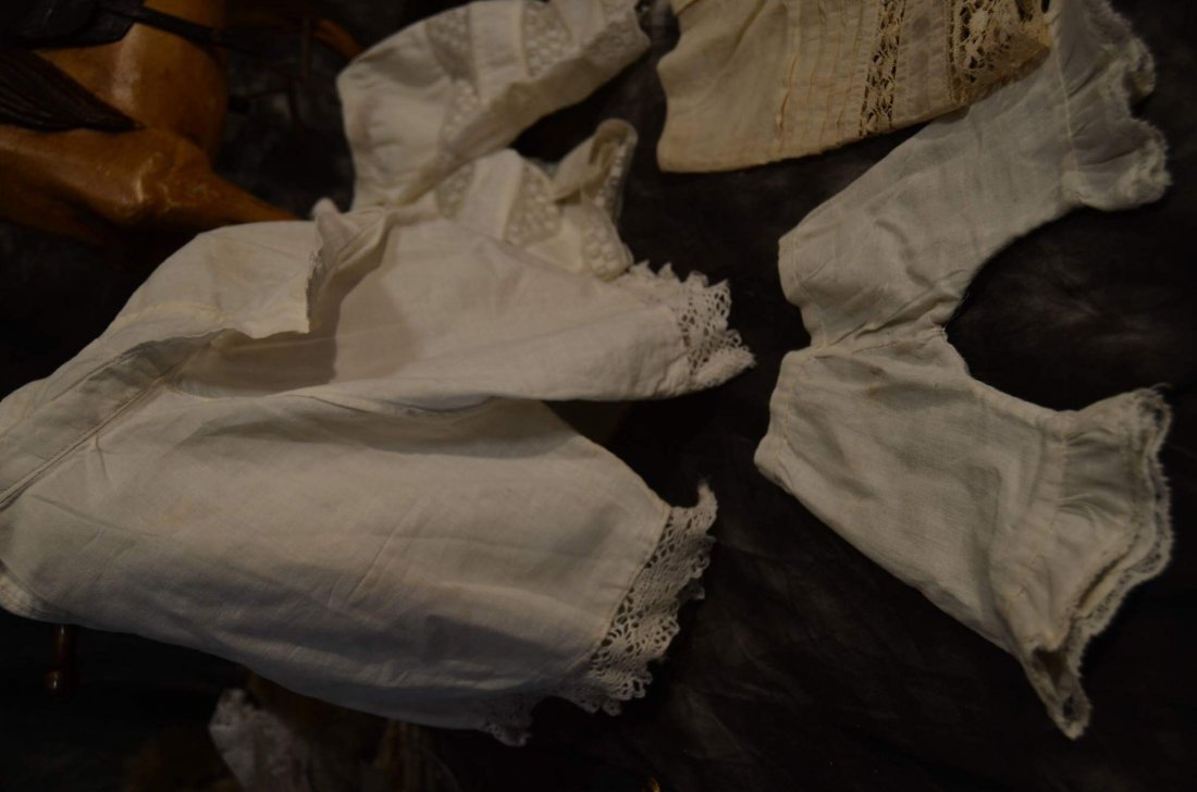 LOT OF 5 PAIRS ANTIQUE PANTALOONS - 4