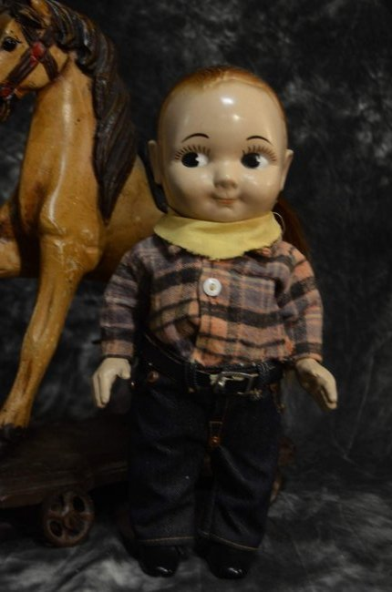 VINTAGE BUDDY LEE DOLL