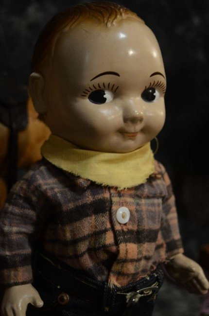 VINTAGE BUDDY LEE DOLL - 2