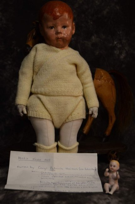 ANTIQUE c 1917 BOY DOLL ~ KATHY KRUSE ~ w PROVENANCE