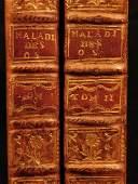 1751 Jean-Louis Petit Treaty on Bone Diseases 2 Vol.