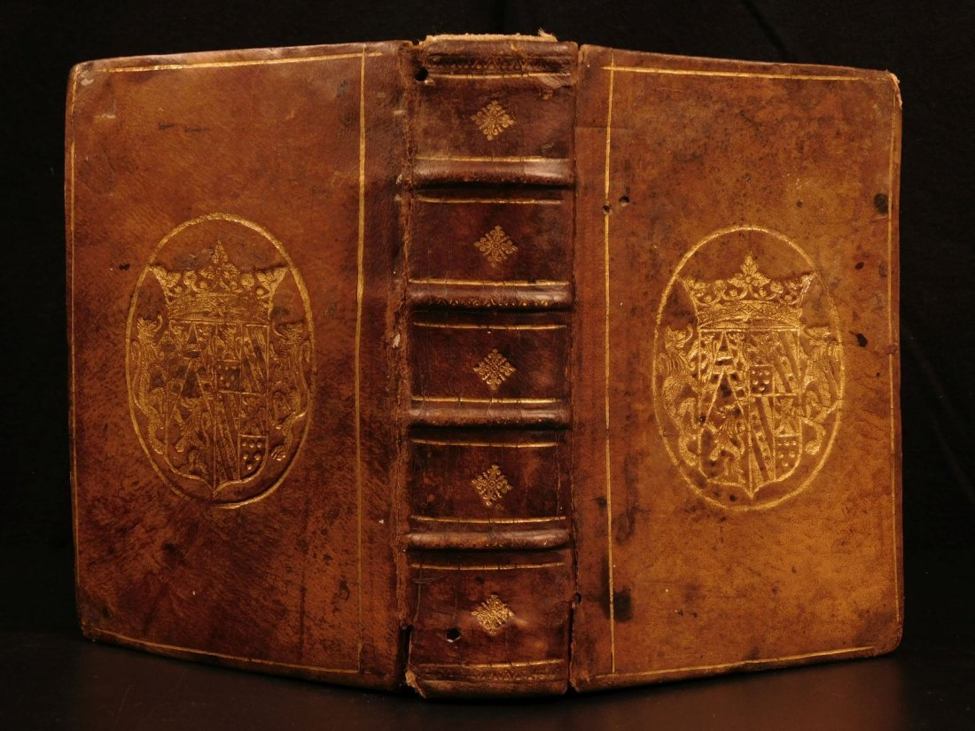 1669 Biblia Sacra Vulgate Holy BIBLE Latin Clementis
