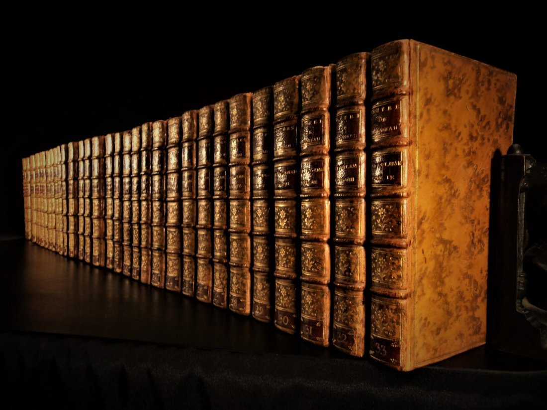 1782 EXQUISITE 1ed Jean-Jacques Rousseau French Lit.