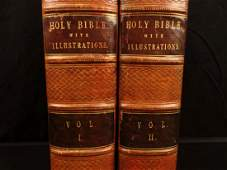 1795 1st ed Holy Bible Illustrated by James Fittler
