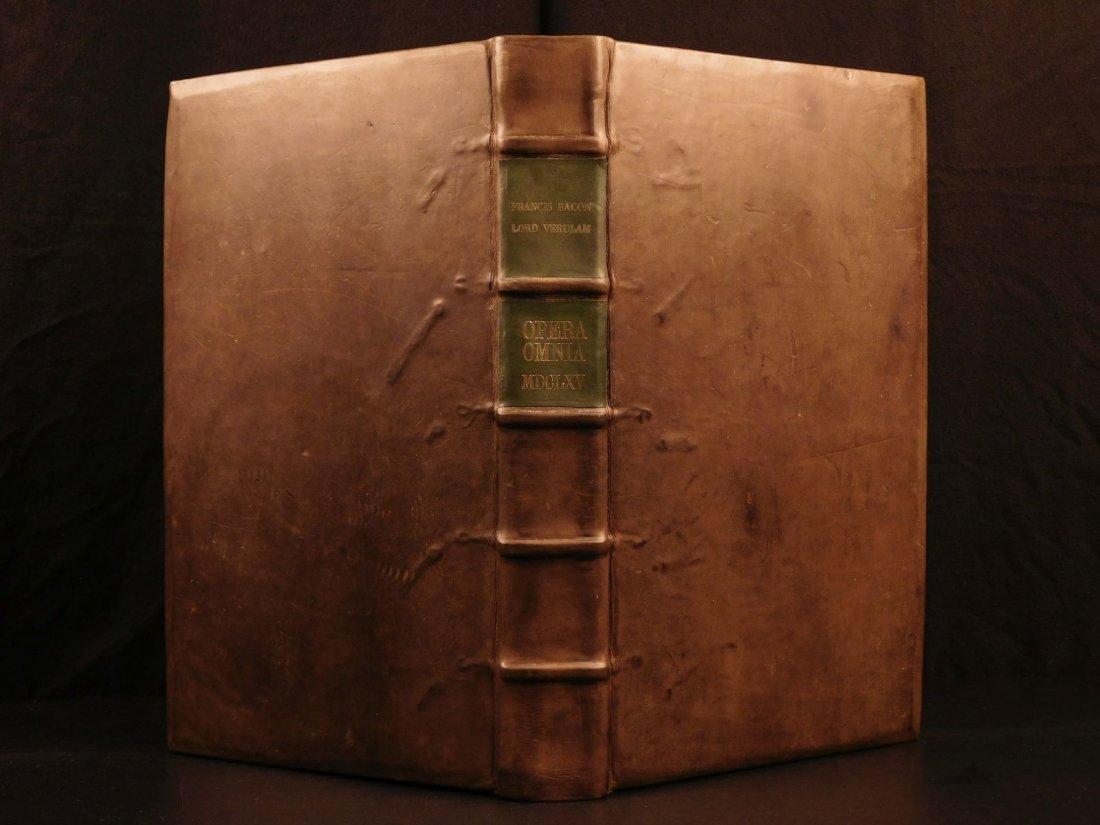 1665 Francis Bacon New Atlantis Novum Organum