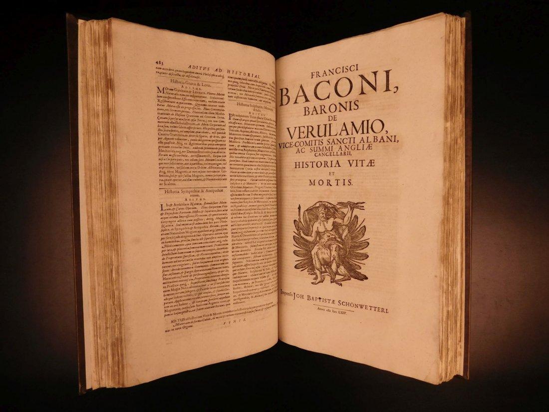 1665 Francis Bacon New Atlantis Novum Organum - 4