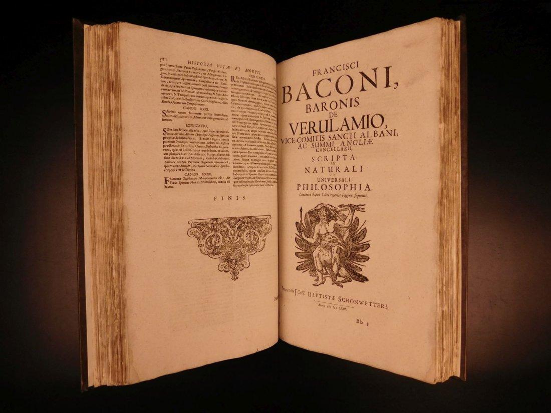 1665 Francis Bacon New Atlantis Novum Organum - 5