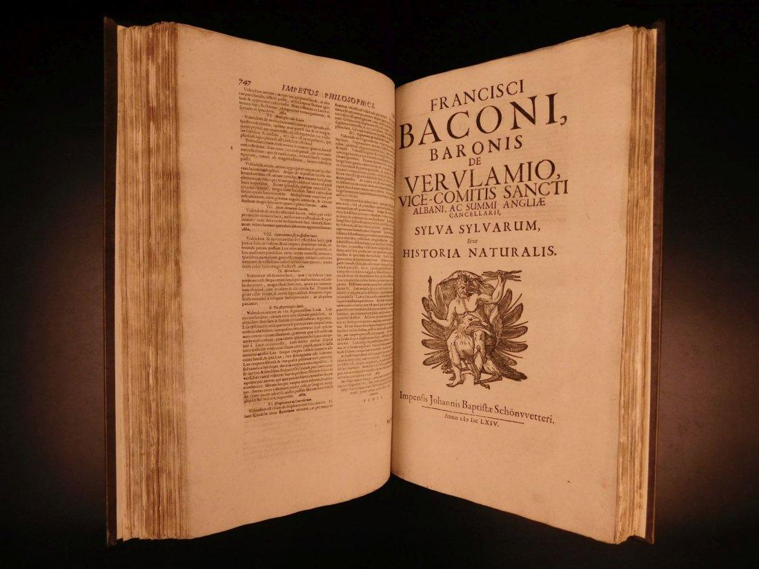 1665 Francis Bacon New Atlantis Novum Organum - 6