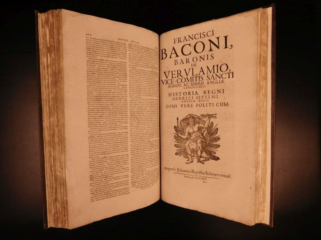 1665 Francis Bacon New Atlantis Novum Organum - 7