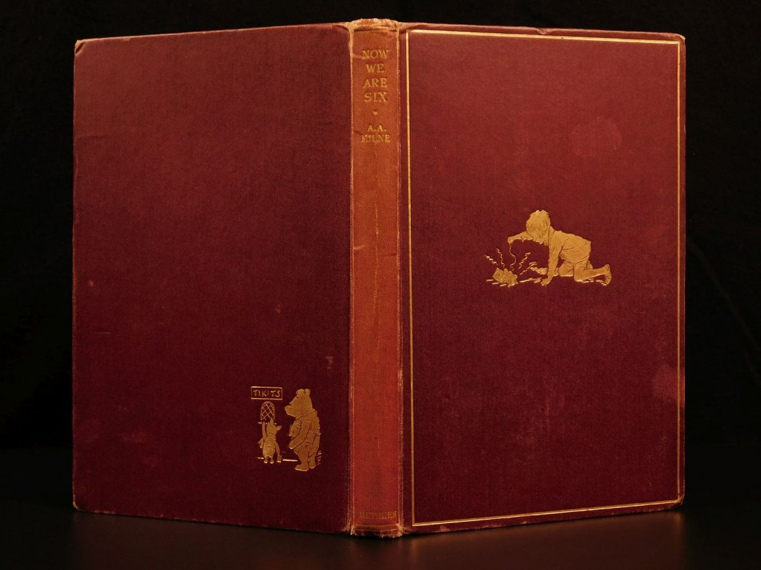 1927 1st ed Winnie the Pooh Milne Now We Are Six