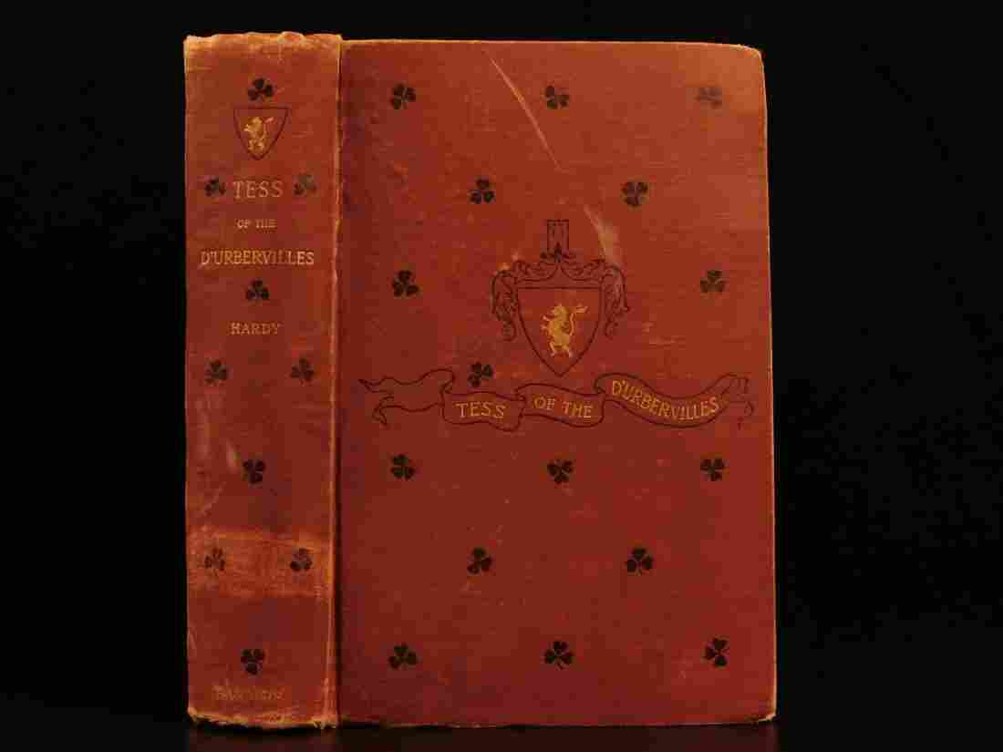 1892 Tess of the d'Urbervilles Thomas Hardy Feminism