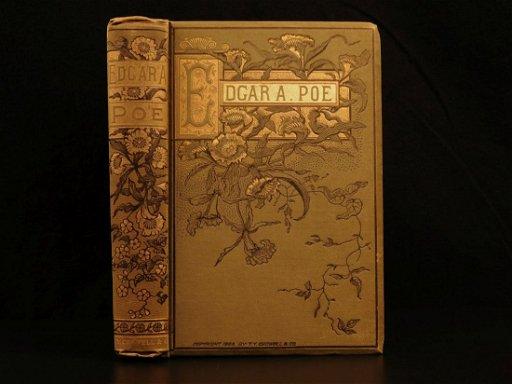 1882 Edgar Allen POE Poems Esoteric Occult Horror