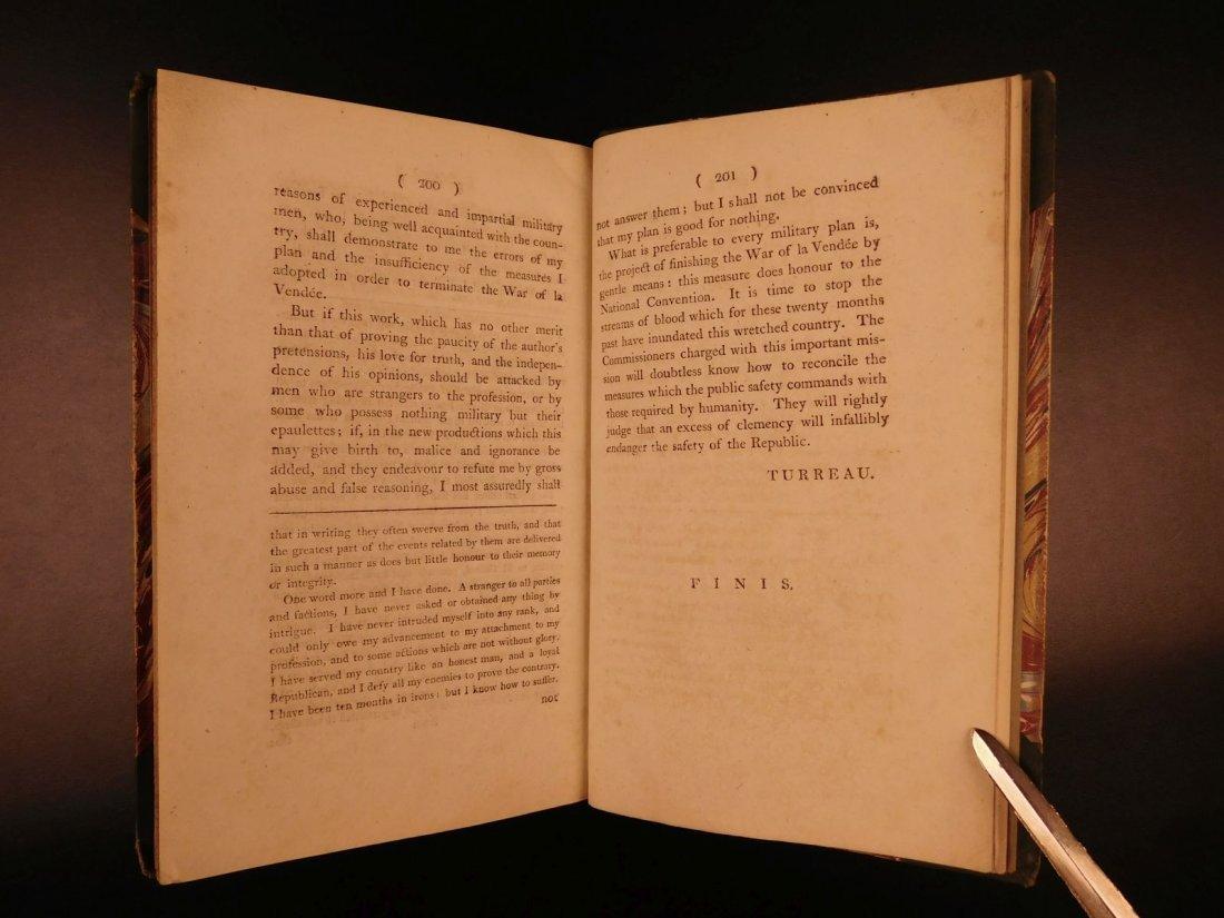 1796 1st English ed Vendee War French Revolution - 10