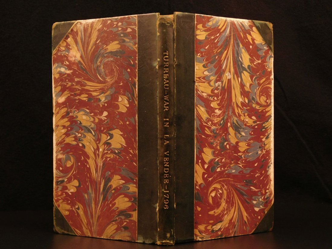 1796 1st English ed Vendee War French Revolution