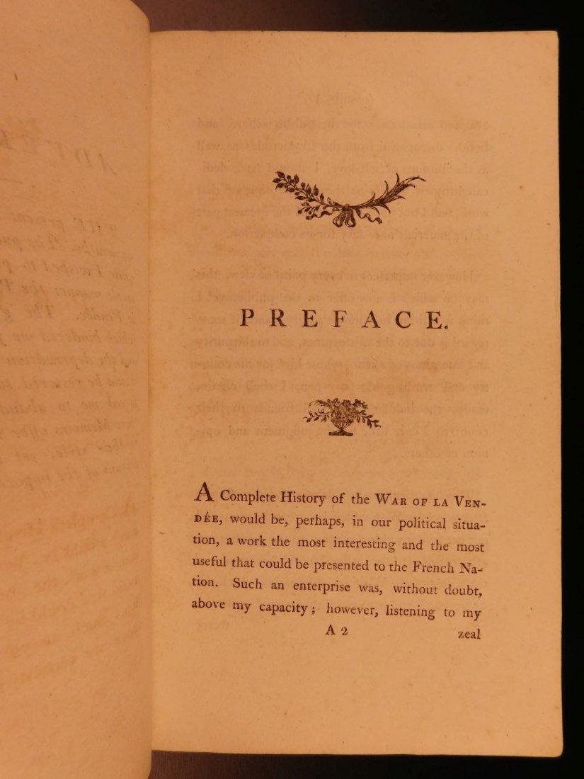 1796 1st English ed Vendee War French Revolution - 3