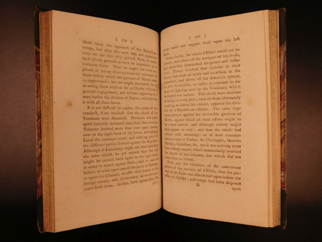1796 1st English ed Vendee War French Revolution - 7