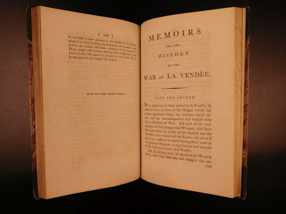 1796 1st English ed Vendee War French Revolution - 8