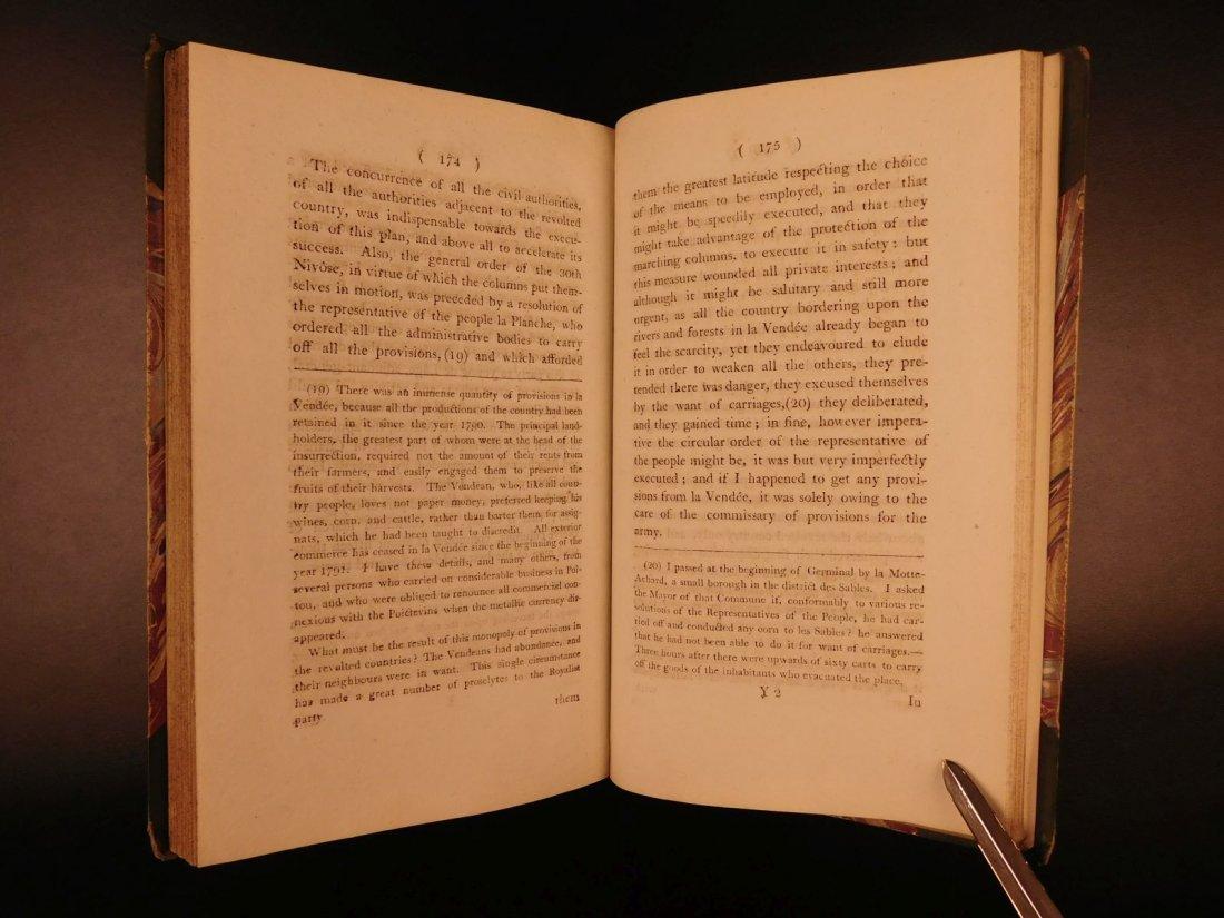 1796 1st English ed Vendee War French Revolution - 9
