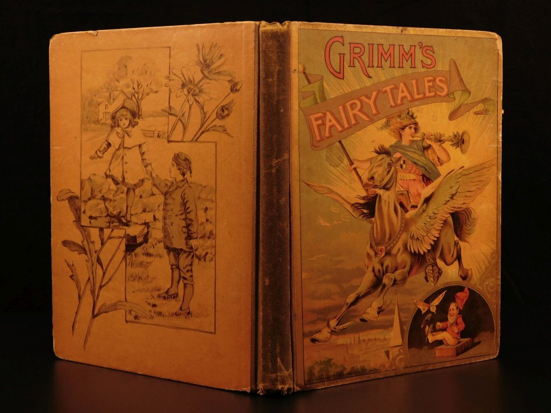 1888 Grimm's Fairy Tales Illustrated Rumpelstiltskin