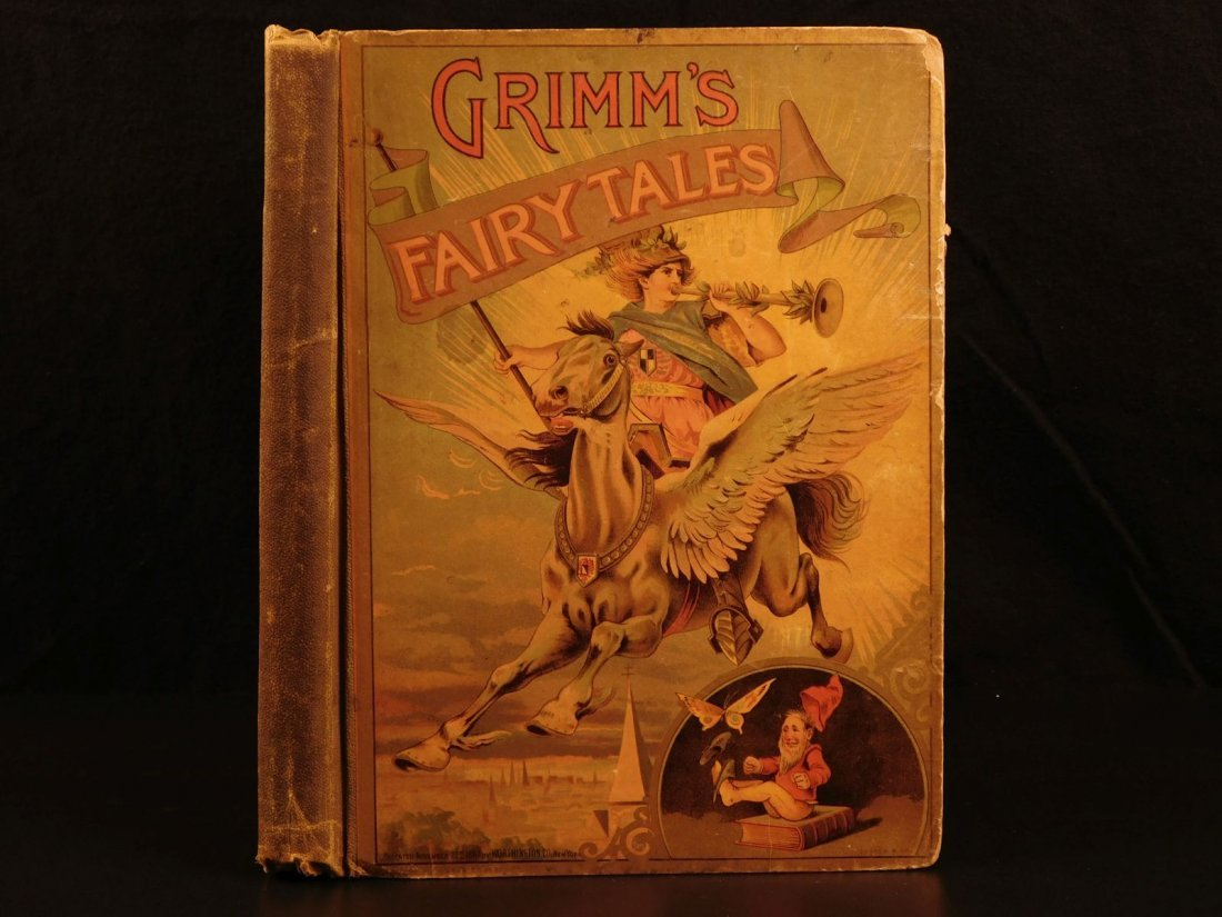 1888 Grimm's Fairy Tales Illustrated Rumpelstiltskin - 2