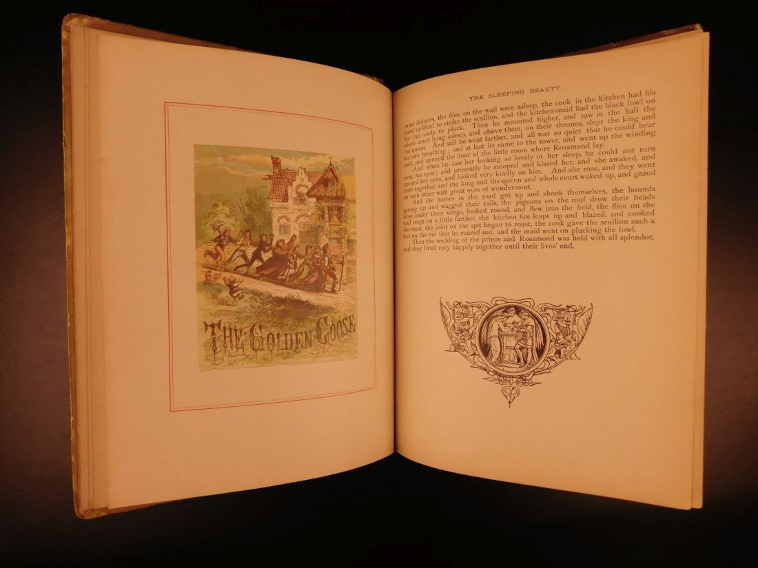 1888 Grimm's Fairy Tales Illustrated Rumpelstiltskin - 6