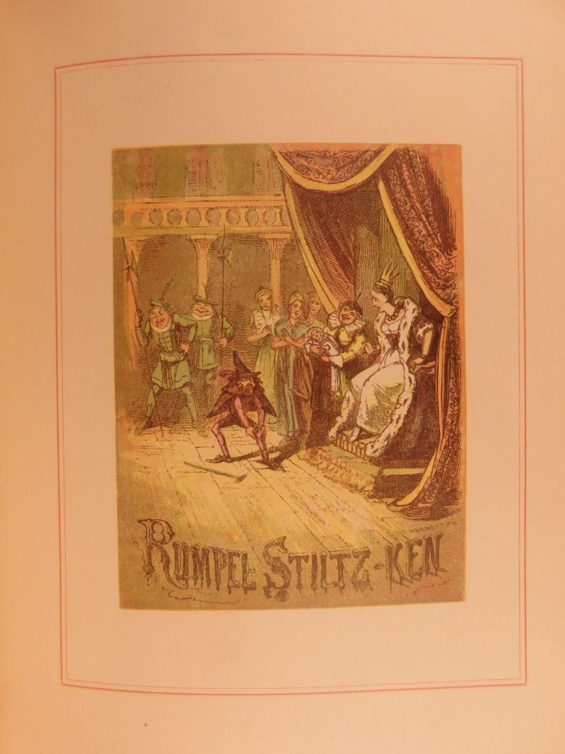 1888 Grimm's Fairy Tales Illustrated Rumpelstiltskin - 8