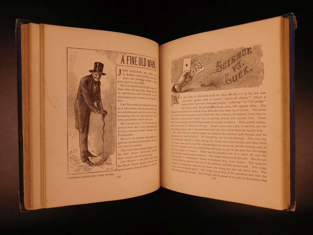 1875 1st ed Sketches Mark TWAIN Samuel Clemens - 8