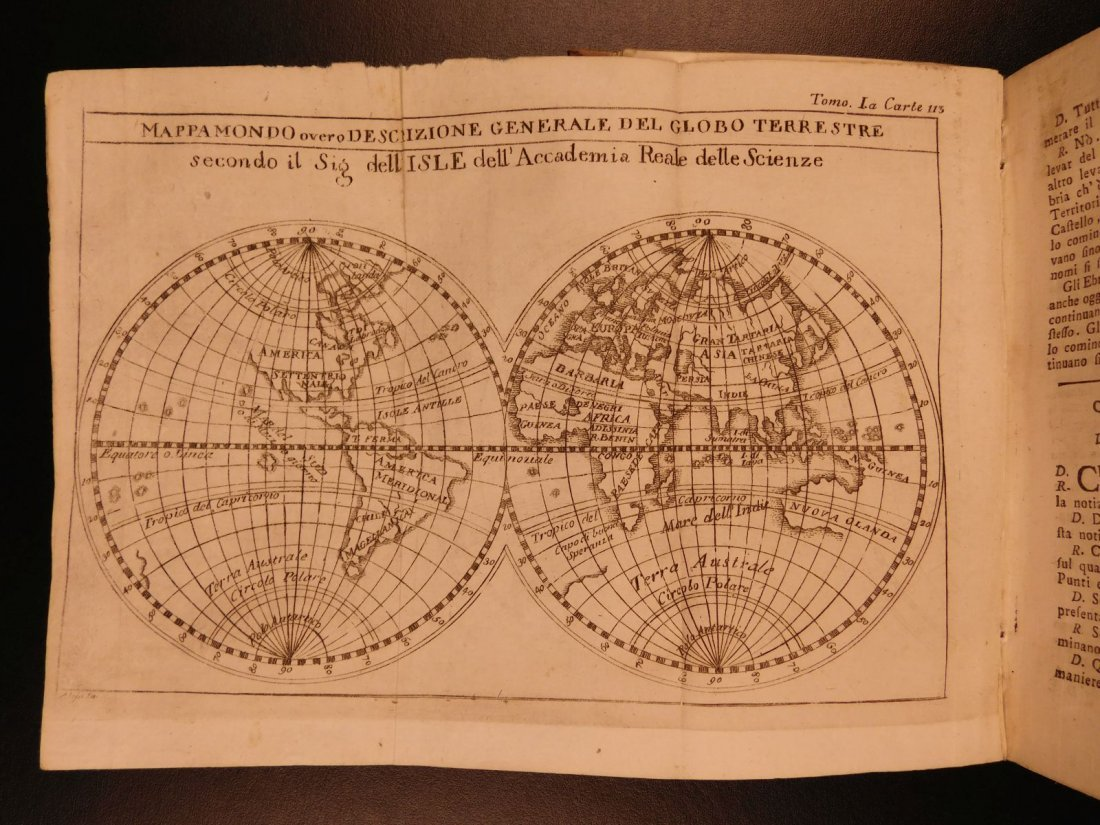 1782 Science & Astronomy Zodiac Cosmography Atlas MAPS - 8