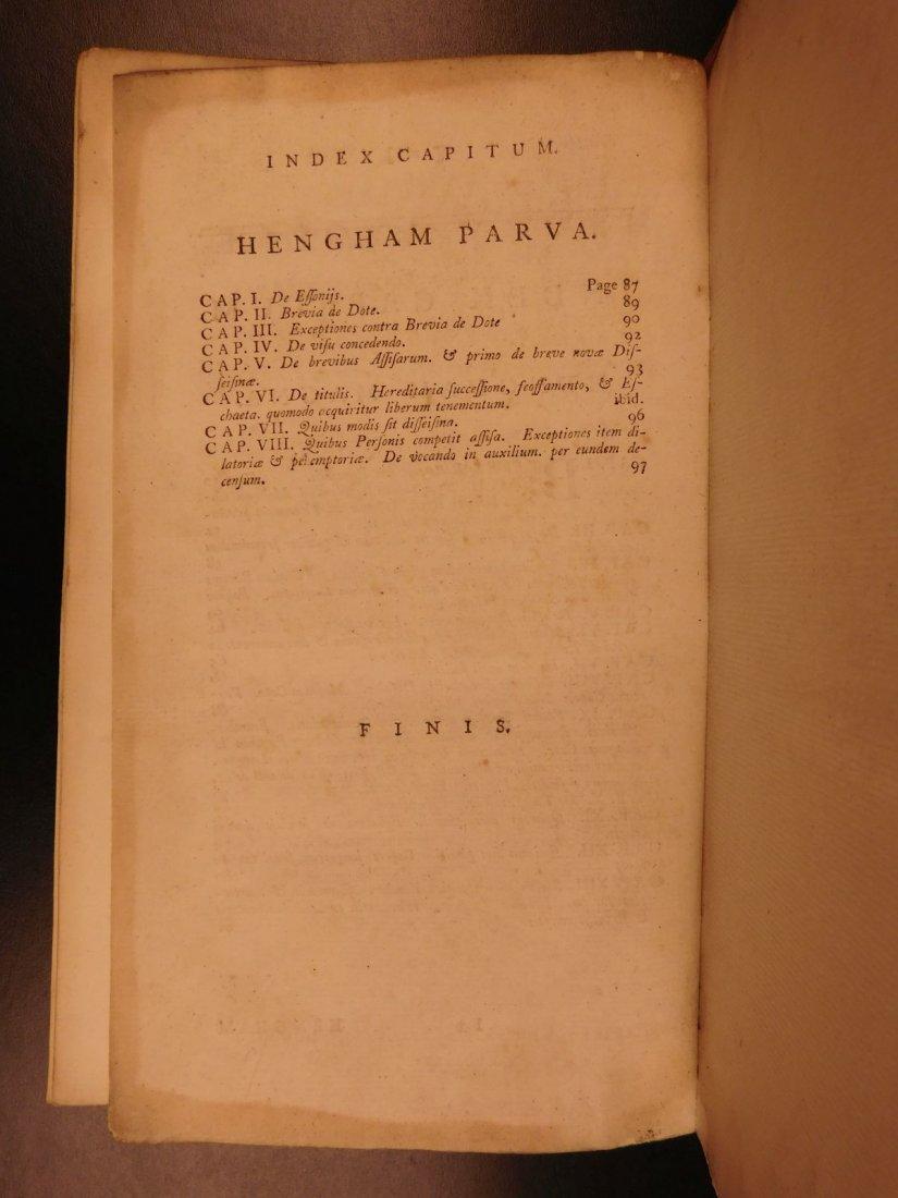 1775 English LAW John Fortescue Laudibus Legum England - 10