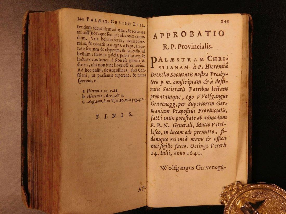 1626 Jeremias Drexel Jobas Bible JOB + Palaestra Sin - 10