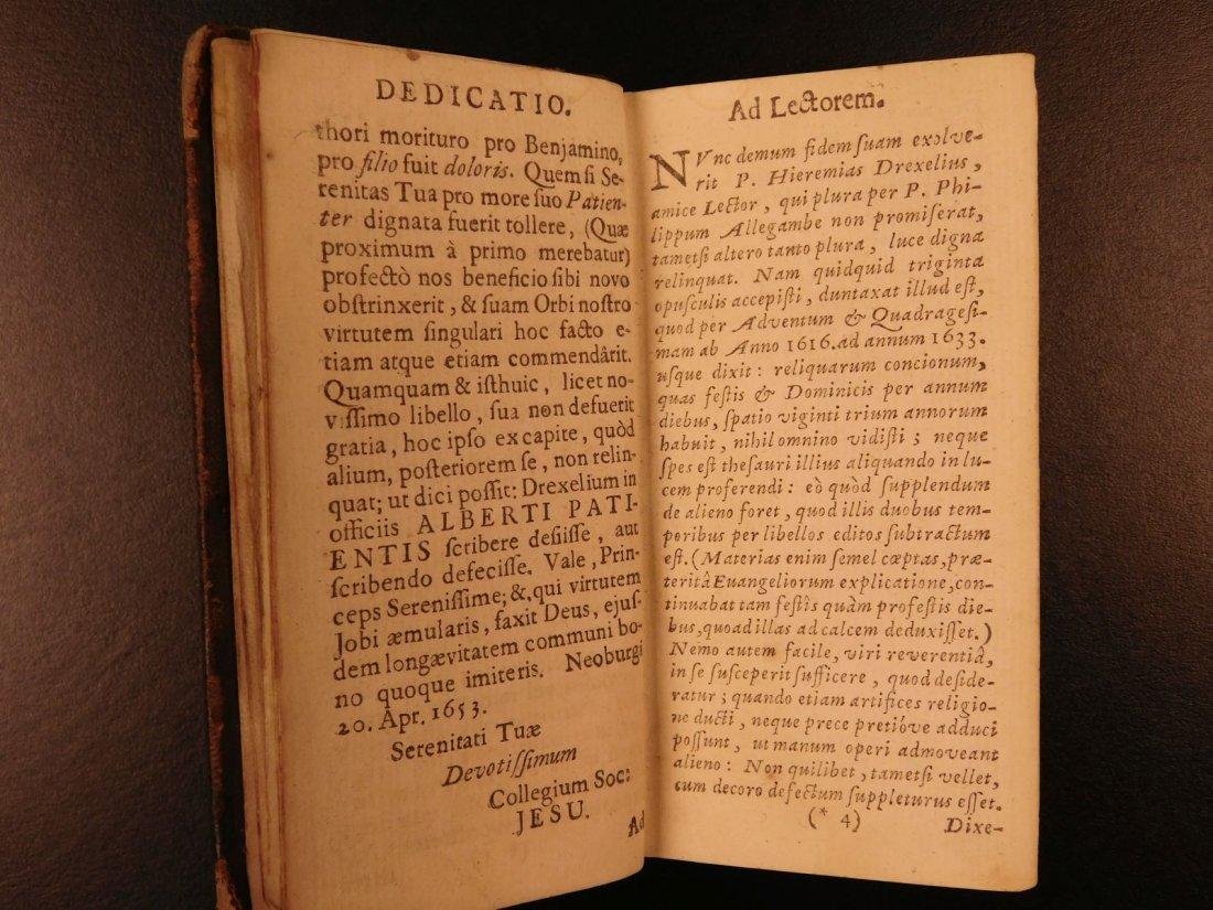 1626 Jeremias Drexel Jobas Bible JOB + Palaestra Sin - 4