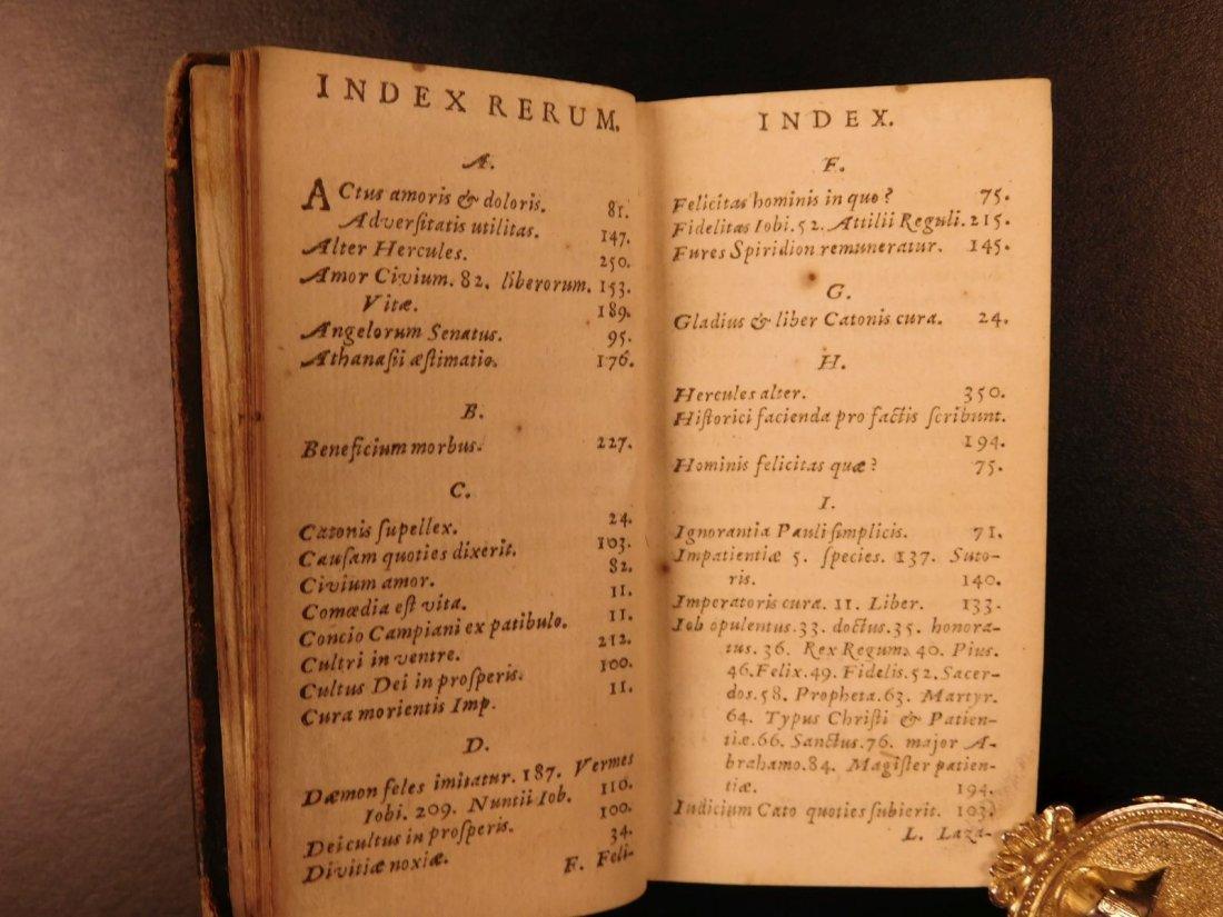 1626 Jeremias Drexel Jobas Bible JOB + Palaestra Sin - 5