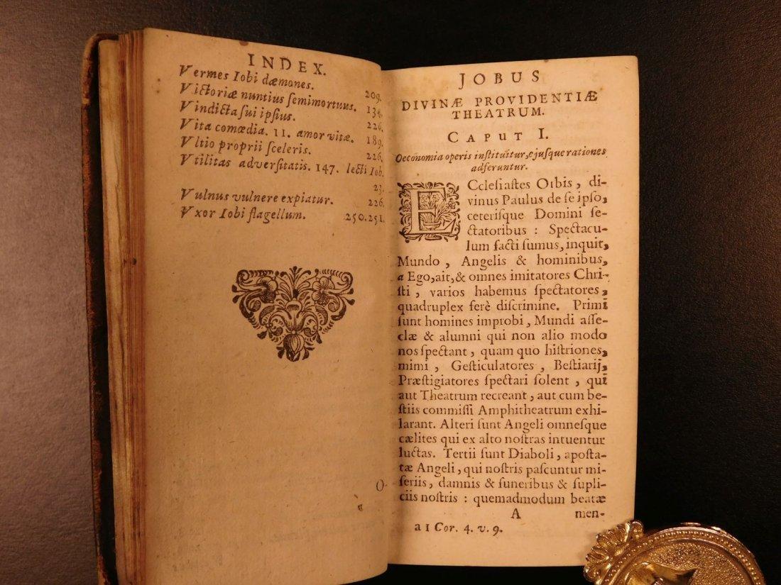1626 Jeremias Drexel Jobas Bible JOB + Palaestra Sin - 6