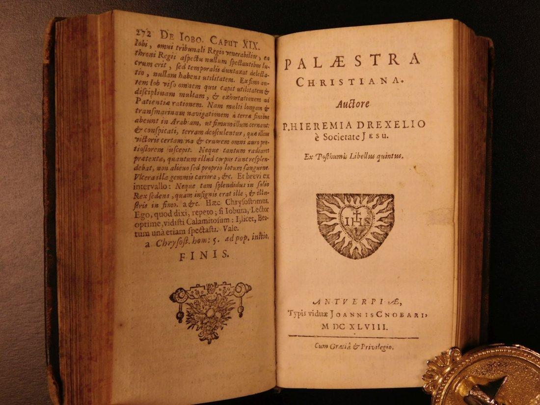 1626 Jeremias Drexel Jobas Bible JOB + Palaestra Sin - 7