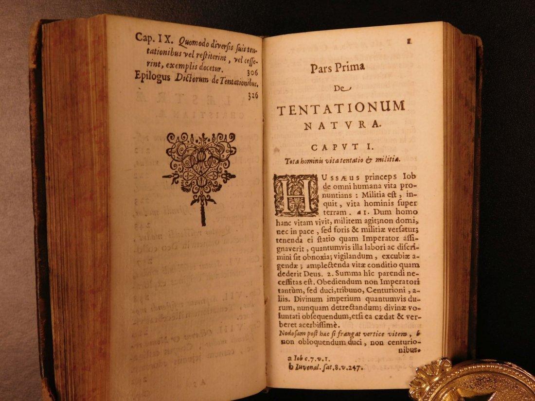 1626 Jeremias Drexel Jobas Bible JOB + Palaestra Sin - 9